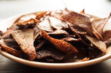 Chips de galettes de blé noir