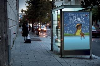 Présentation affiche Gaume Jazz Festival 2016