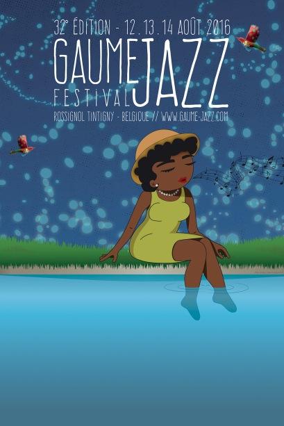 Affiche Gaume Jazz Festival 2016