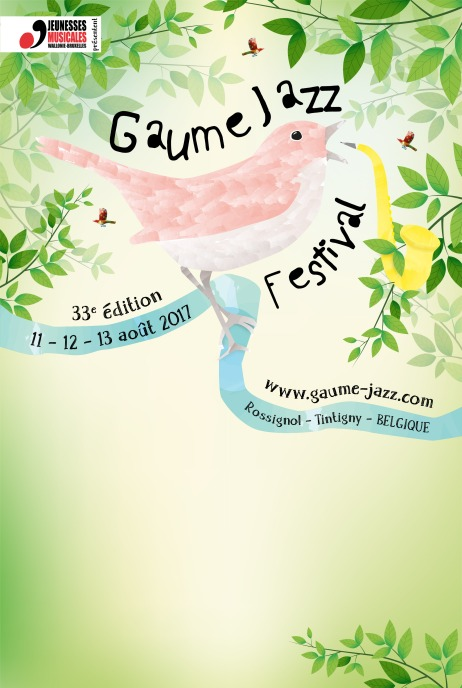 Affiche Gaume Jazz 2017