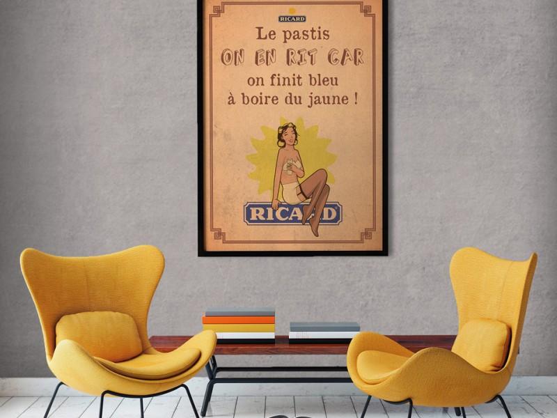 Pin-Up Ricard