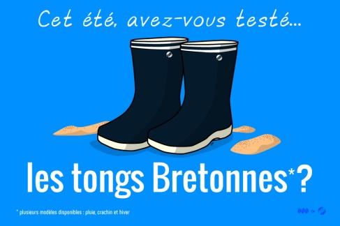 Le stuff breton : les tongs