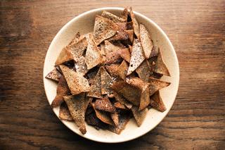 Recette des chips de sarrasin