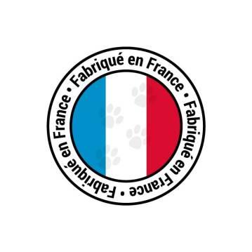 """Logo personnalisé """"Fabriqué en France"""""""