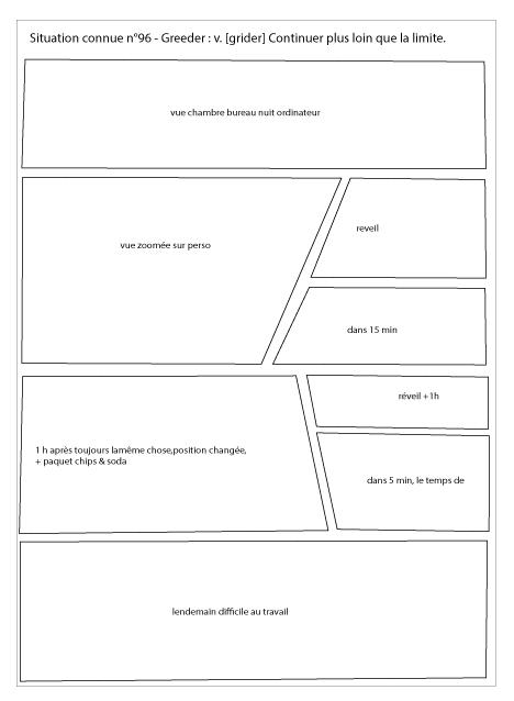Planche de BD - shéma