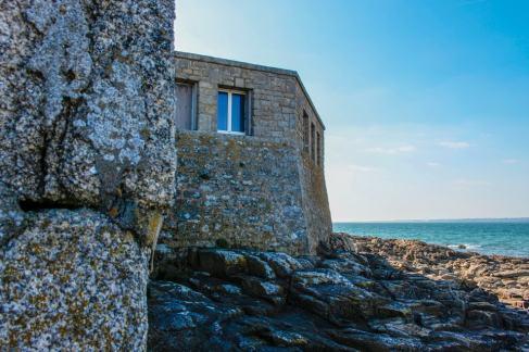 """Le Fort Bloqu"""" est construit à même la pierre"""