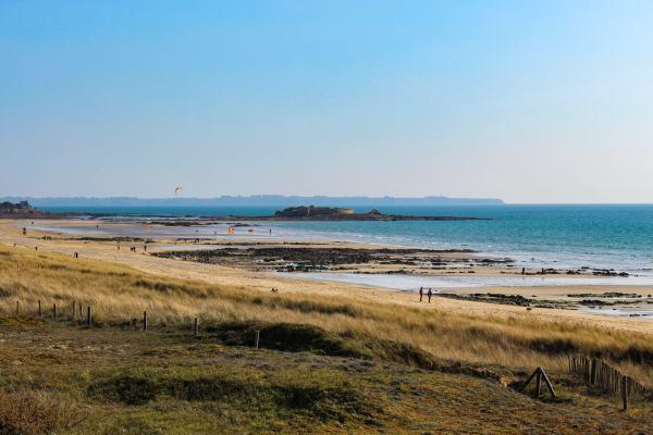 Le Fort Bloqué vu de la plage