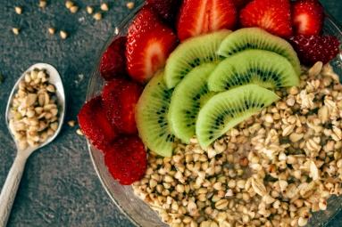 Porridge Fraise et Kiwi