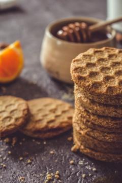 Biscuits miel et amande