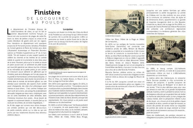 Pages des Stations Balnéaires de Bretagne