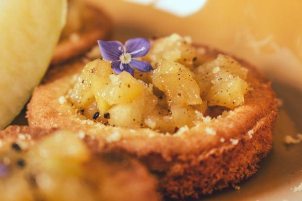 La recette des palets bretons façon tartelette à la pomme