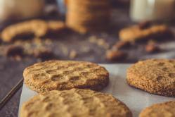 La recette de biscuits au miel et à l'amande