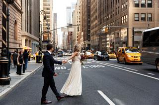 couple à new-york, hôtel romantique